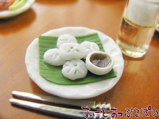 ニラ饅頭5個 お皿付き VRRF-73