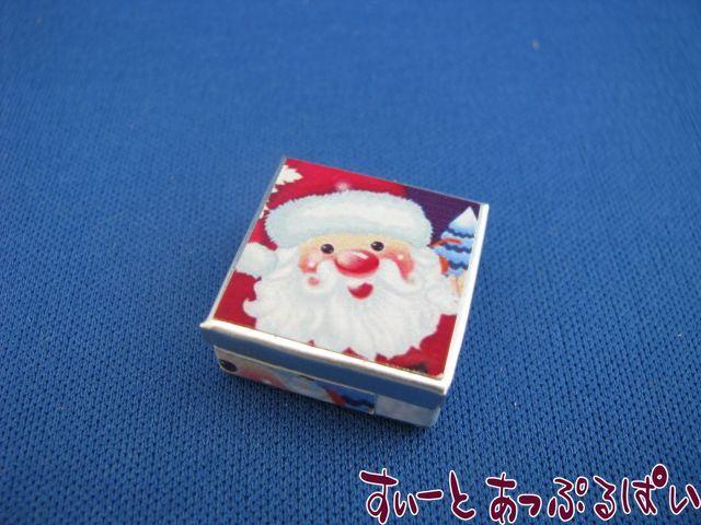 サンタの四角缶 SMSCKT1