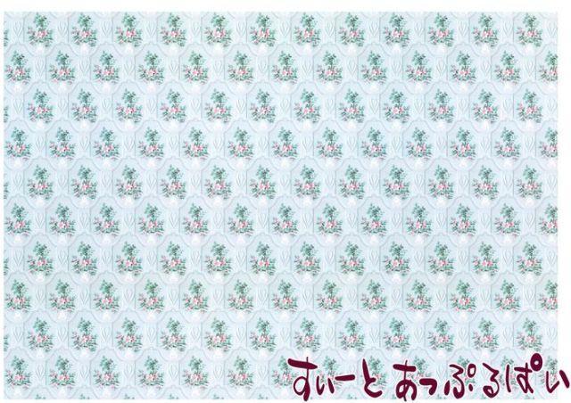 【1/12サイズ】【スペイン製】 ドールハウス用壁紙 432 x 260ミリ WM35604