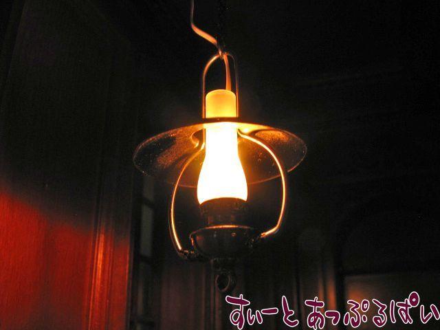 【12V照明】【ハイジオット】 ノスタルジック オイルランプ HO-YL5045AS