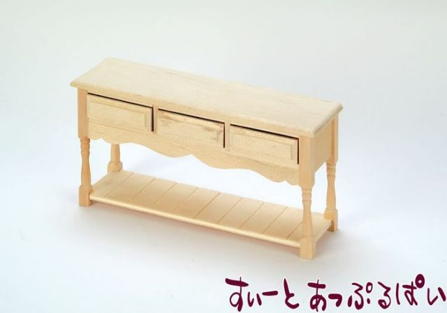 サイドテーブル アンフィニッシュ SABEF001