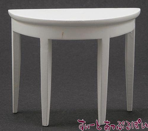 コンソールテーブル ホワイト CLA12011