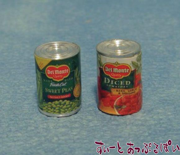 小さめ缶詰 2個セット SAD1267