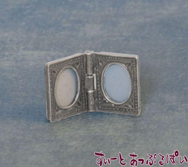 銀のダブルフォトフレーム SAD2415