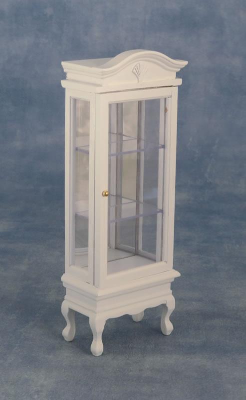 ディスプレイタワー 背面鏡入り ホワイト SADF77601