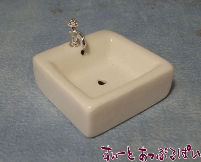 四角い陶器の洗面台 SADIY663