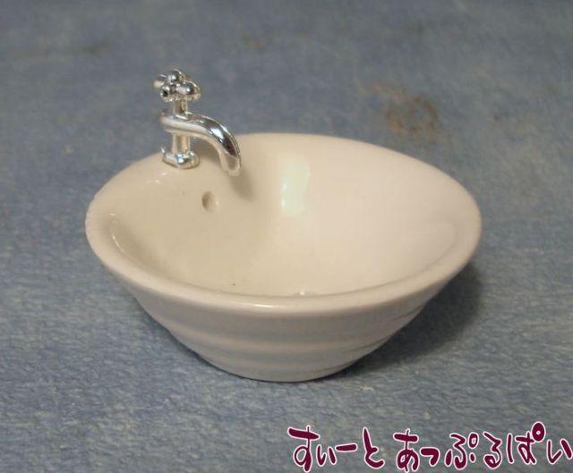 丸い陶器の洗面台 SADIY664