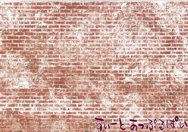 【英国製】【エンボス加工】 A3外壁用シート 古びたレンガ壁 SADIY794B