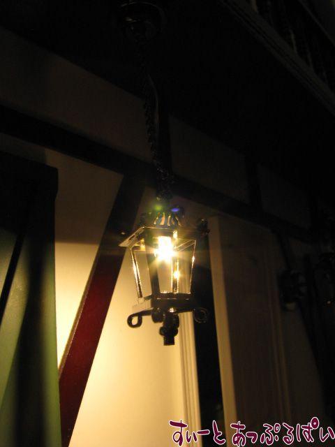 【3V電池式LED照明】 ハンギング ブラック コーチライト HKL-CL-339