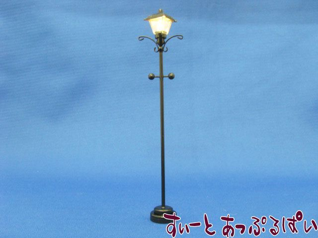 【3V電池式LED照明】 ガーデントーチ ブラック HKL-FL-305B
