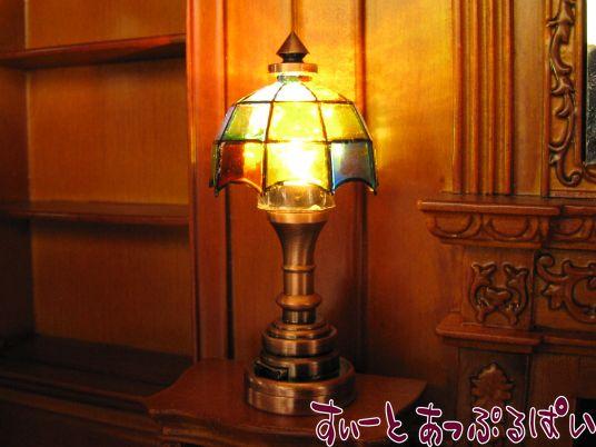 【3V電池式LED照明】 テーブルランプ ティファニー HKL-TL-013C