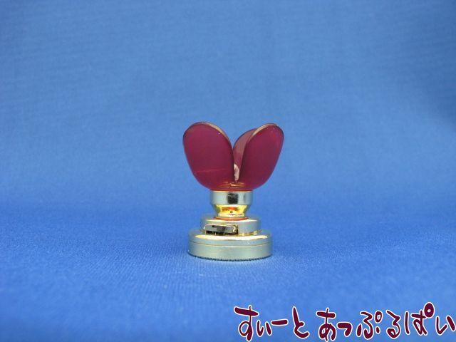 【3V電池式LED照明】 かわいいお花のランプ あんず色  HKL-TL-511R