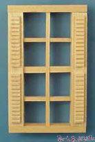 【1/24サイズ】 8枠シャッター窓 H5003 HWH5003