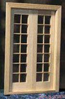 【1/24サイズ】 クラシック フレンチドア HWH6011