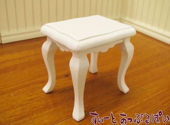 サイドテーブル ホワイト ID016-WH