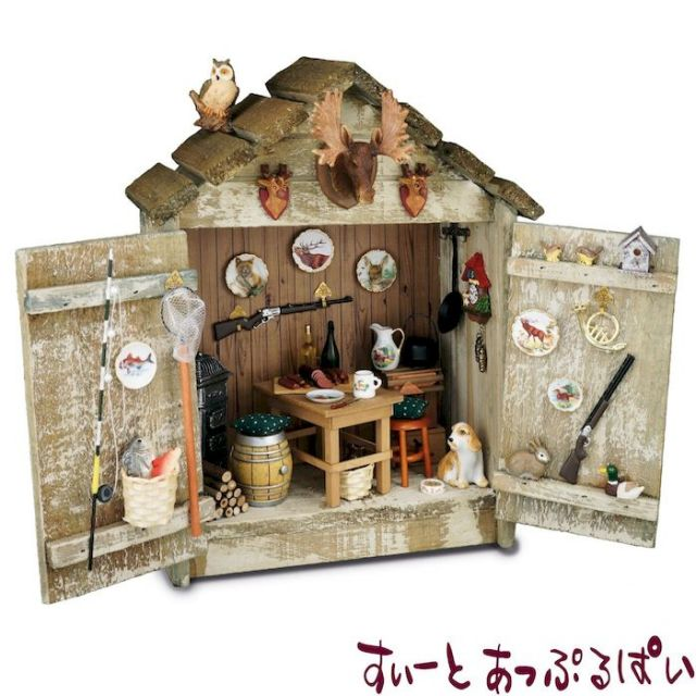 【ロイターポーセリン】 ドールハウス ハンティングロッジ RP1730-2