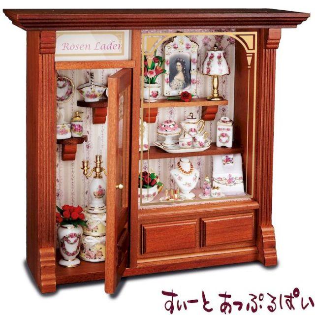 【ロイターポーセリン】 ドールハウス ローズショップ RP1798-3