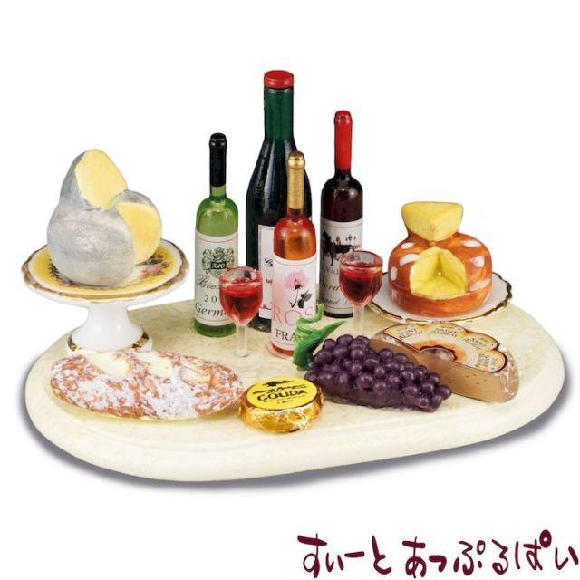 【ロイターポーセリン】【世界限定1200個】 ミニチュアタブレット チーズパーティー RP1815-1