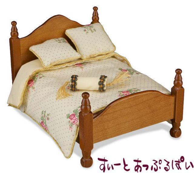 【ロイターポーセリン】【ベッド別売り】【リネンのみ】 ベッドリネン ローズ RP1829-3