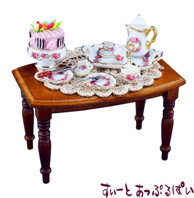 【ロイターポーセリン】 コーヒータイムテーブル ビーダーマイヤー RP1850-0