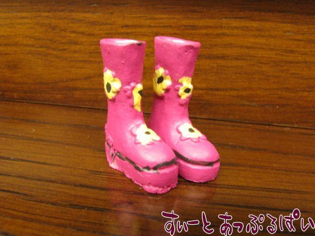 【在庫限り】 お花の長靴 SA4960