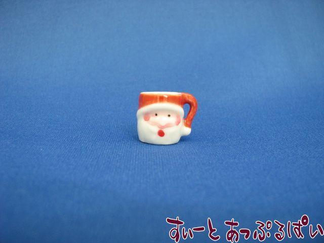 ハンドメイド陶器のマグ サンタクロース SMSTM1