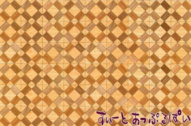 【スペイン製】 ドールハウス用フローリングシート  269 x180mm WM34605N