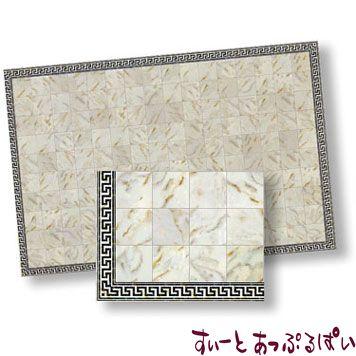 【スペイン製】 ドールハウス用 大理石シート アイボリー  425 x 330 mm WM34734