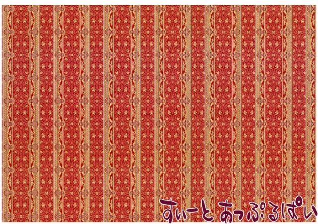【1/12サイズ】【スペイン製】 ドールハウス用壁紙  432 x 260ミリ WM35577
