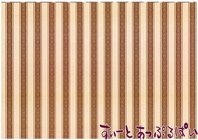 【1/12サイズ】【スペイン製】 ドールハウス用壁紙 432 x 260ミリ WM35580