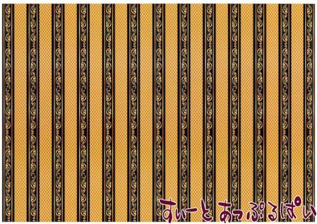 【1/12サイズ】【スペイン製】 ドールハウス用壁紙 432 x 260ミリ WM35584