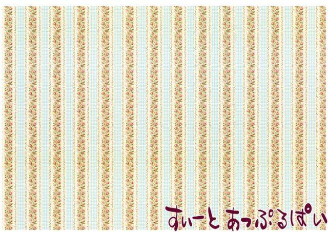 【1/12サイズ】【スペイン製】 ドールハウス用壁紙 432 x 260ミリ WM35585