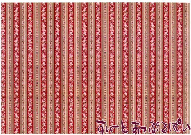 【1/12サイズ】【スペイン製】 ドールハウス用壁紙  432 x 260ミリ WM35586