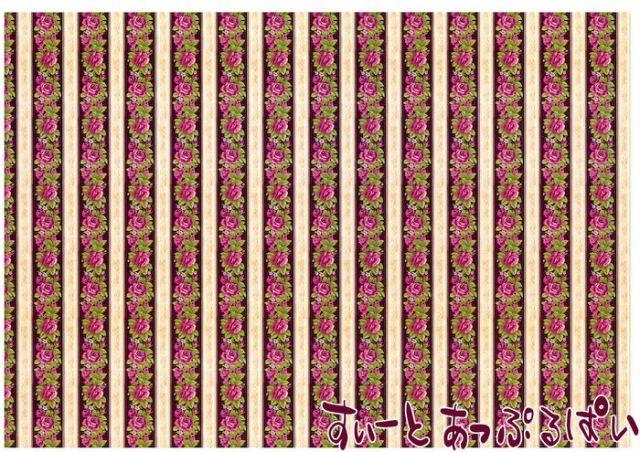 【1/12サイズ】【スペイン製】 ドールハウス用壁紙 432 x 260ミリ WM35588