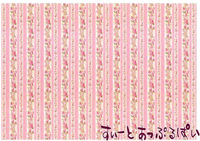 【1/12サイズ】【スペイン製】 ドールハウス用壁紙 432 x 260ミリ WM35593