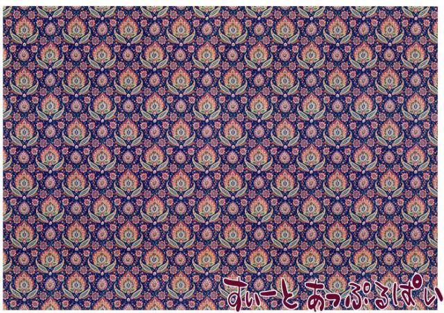 【1/12サイズ】【スペイン製】 ドールハウス用壁紙 432 x 260ミリ WM35600