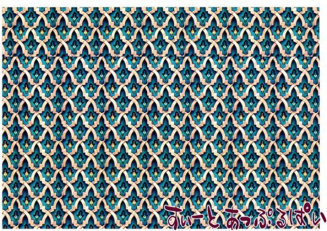 【1/12サイズ】【スペイン製】 ドールハウス用壁紙  432 x 260ミリ WM35603