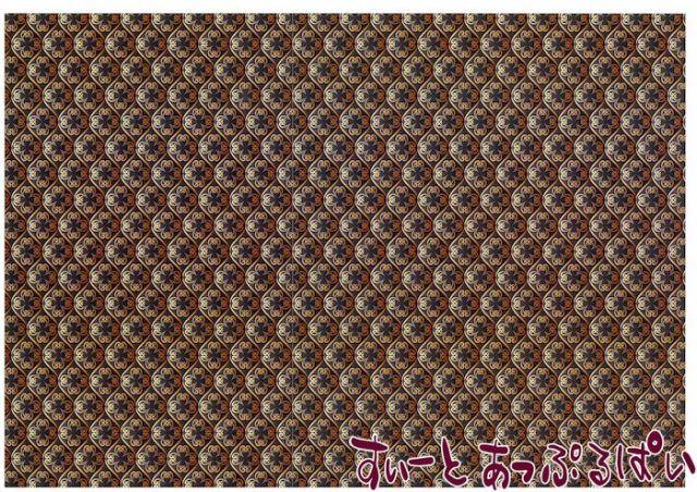 【1/12サイズ】【スペイン製】 ドールハウス用壁紙  432 x 260ミリ WM35607