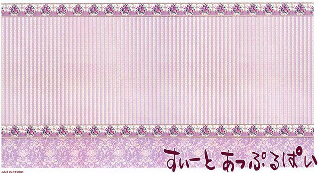 【1/12サイズ】【スペイン製】 ドールハウス用腰壁風壁紙 440 x 217ミリ WM35801