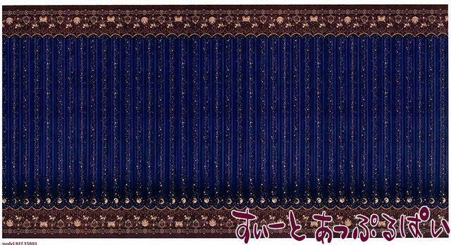 【1/12サイズ】【スペイン製】 ドールハウス用腰壁風壁紙 440 x 217ミリ WM35803