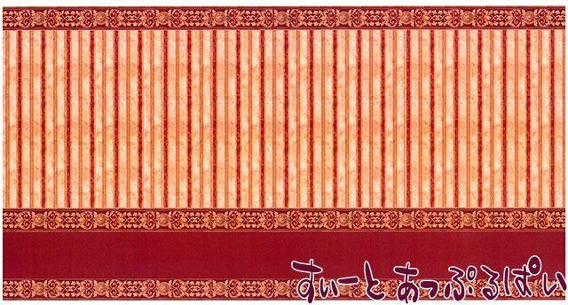 【1/12サイズ】【スペイン製】 ドールハウス用腰壁風壁紙 440 x 217ミリ WM35804