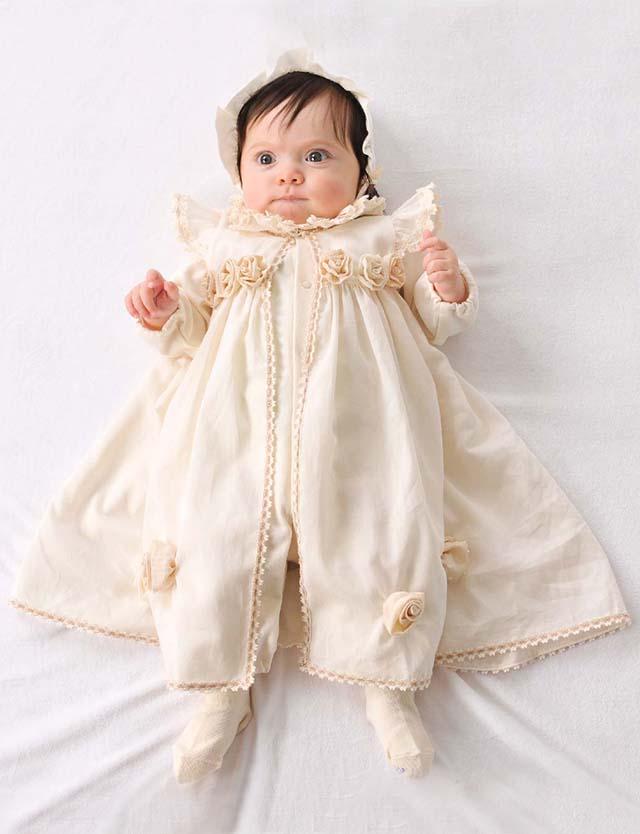 1a483595ff965 Amorosa mamma ローズのセレモニードレス セット ac026 赤ちゃん ベビー ドレス ベビー服