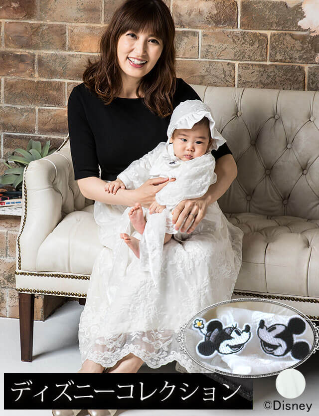 24211c6b440fb  親子リンクコーデ特別セット  スウィートマミー限定のディズニーデザイン ママ&ベビー