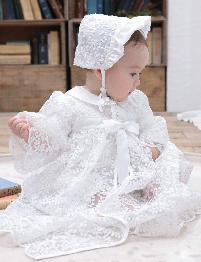 スウィートマミー限定のディズニーデザイン セレモニーベビードレス  2WAYオール&レースドレス2点セット