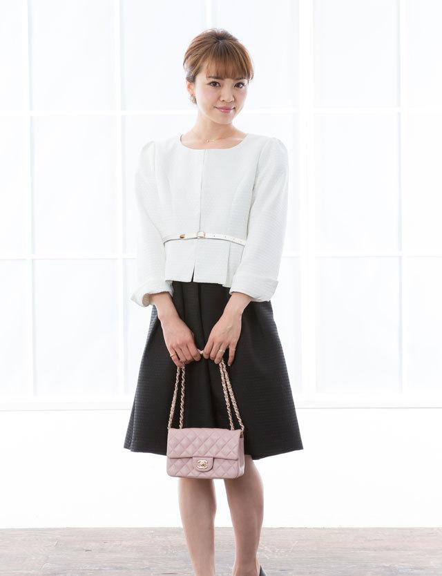 【クリアランス】授乳服マタニティウェア ハニカムジャガード ママスーツ ジャケット×ワンピースセット