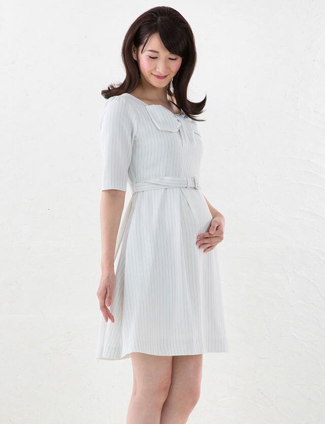 【SALE1月24日まで】【2点まとめ買】授乳服マタニティウェア リボンデザイン ワンピース