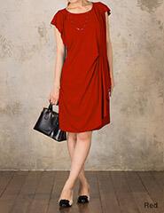 フロントソフトプリーツ授乳ワンピース 着痩せ効果抜群!ドレープの美しい美ドレス so6126 授乳服マタニティウェアフォーマル