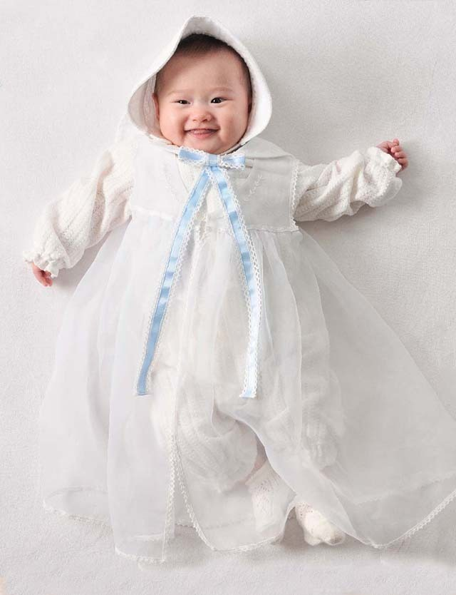 Youseino mori 妖精の森 レーシーニットのセレモニードレスセット yc028 赤ちゃん/ベビー服 【日本製】