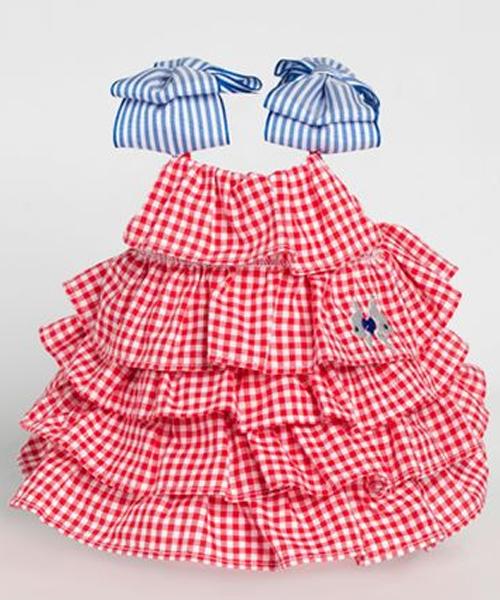 【Sparkling Dog★スパークリングドッグ】SWEET VANILLA DRESS/RED