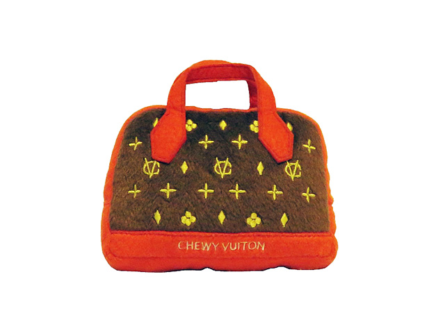 【Dog Diggin Designs】Chewy Vuiton Posh Purse Toy/Small